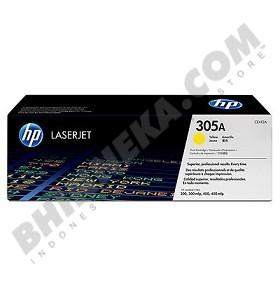 HP Yellow Toner 305A [CE412A] - Toner Printer Hp